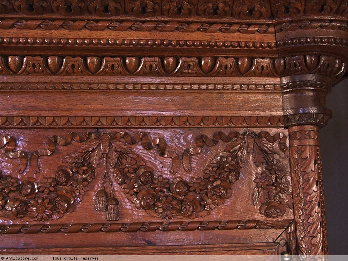 armoire normande du bocage virois - xixe siècle - n.15320