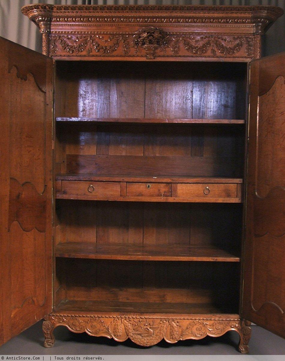 armoire normande du bocage virois xixe si cle. Black Bedroom Furniture Sets. Home Design Ideas