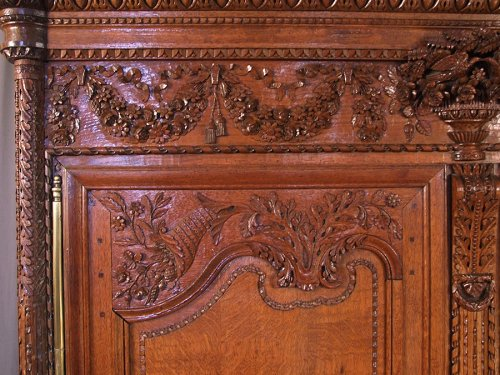 French Norman  ( bocage virois ) cabinet -