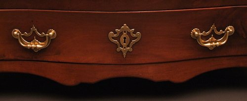 18th century - XVIIIthc Commode malouine in cuban mahogany