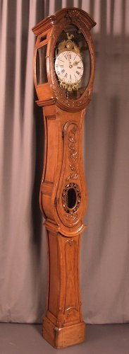 "A Late 18th century ""Demoiselle de Honfleur"" grandfather clock"