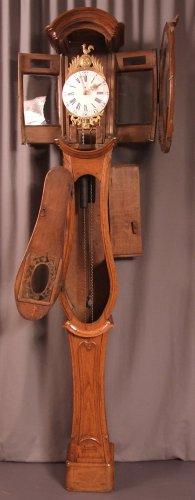"A Late 18th century ""Demoiselle de Honfleur"" grandfather clock -"