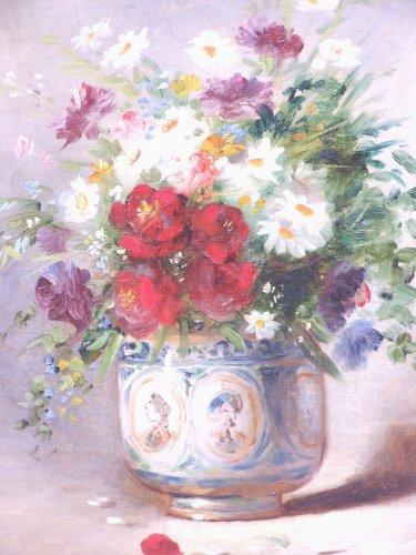 Paintings & Drawings  - Vase of Flowers - A de Caranga  (1829 - 1889)