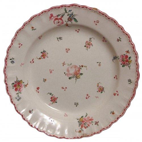 Marseille faïence plate - Robert manufacture 18th century