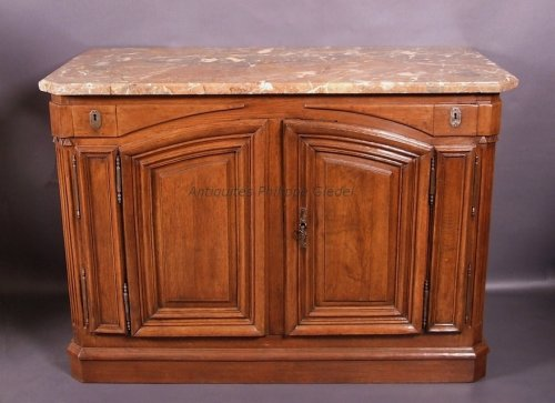 "Buffet said ""de chasse"" stamped Franc - Paris vers 1770 - Furniture Style Transition"