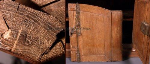 "Furniture  - Buffet said ""de chasse"" stamped Franc - Paris vers 1770"