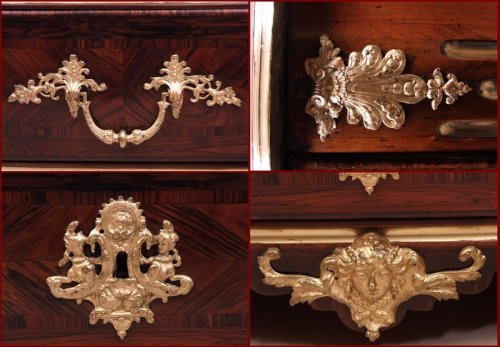 French louis xiv commode attributed to Etienne Doirat -