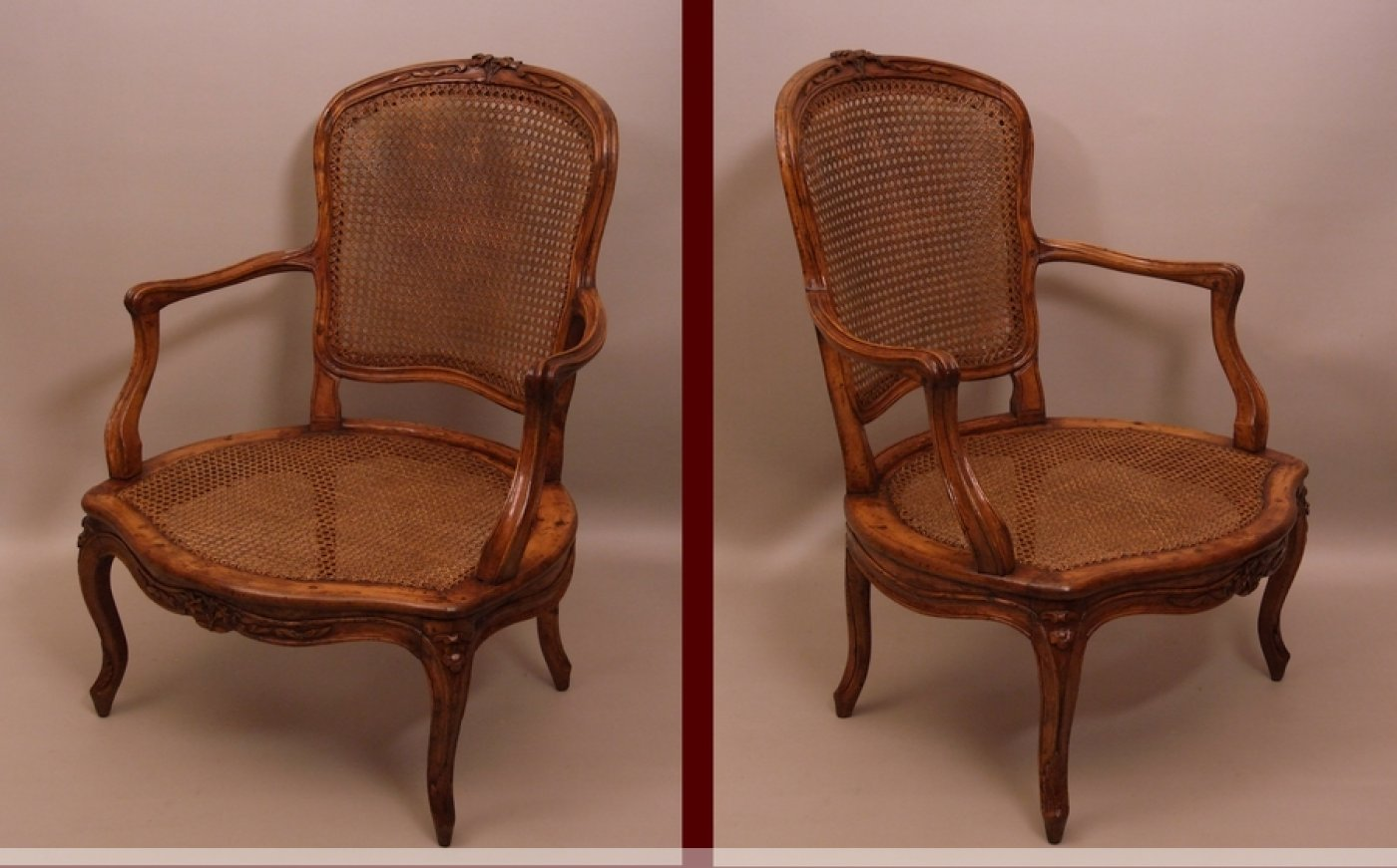 tr s large fauteuil cabriolet d 39 poque louis xv xviiie. Black Bedroom Furniture Sets. Home Design Ideas