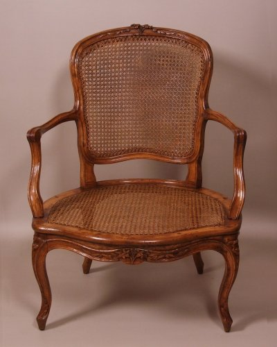 Louis xv cabriolet armchair - Seating Style Louis XV