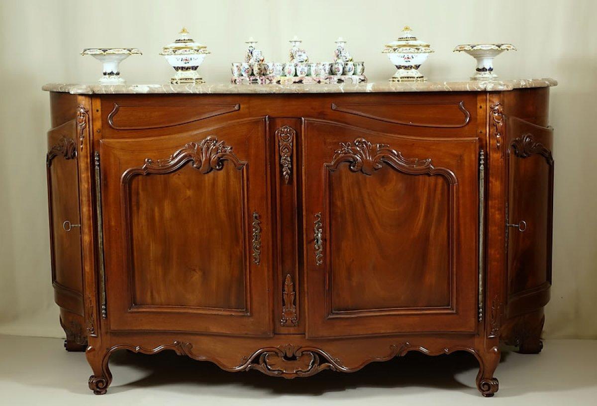 Buffet D Apparat En Acajou Bordeaux Xviii Si Cle N 53095 # Meuble Acajou