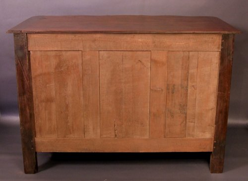 """18th century - Chest of drawers said """"de port"""" in solid mahogany, 18th century"""