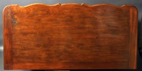 """Chest of drawers said """"de port"""" in solid mahogany, 18th century - Louis XV"""