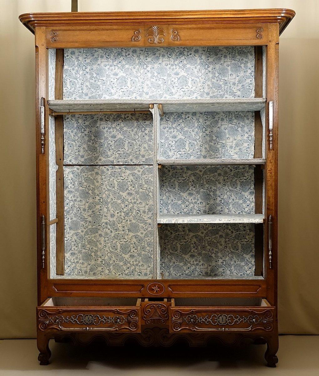 armoire de mariage lorraine nancy ou lun ville xixe. Black Bedroom Furniture Sets. Home Design Ideas
