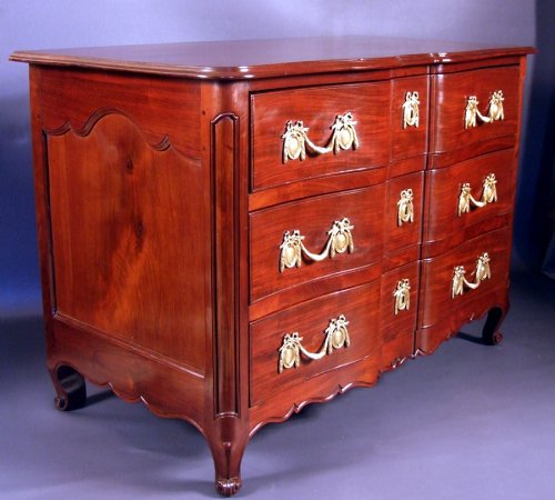 Commode - Work cabinetry Nantes - punch Jurande 1772 - Furniture Style Louis XV