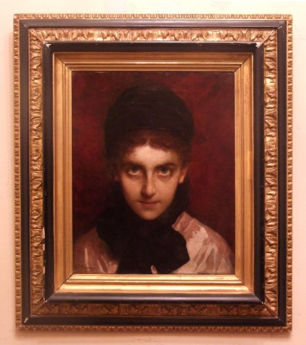 Henriette Browne - PORTRAIT OF AN ORIENTAL JEW YOUNG LADY