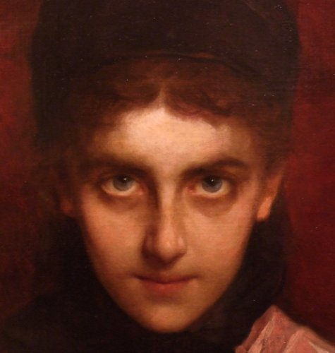 Paintings & Drawings  - Henriette Browne - PORTRAIT OF AN ORIENTAL JEW YOUNG LADY