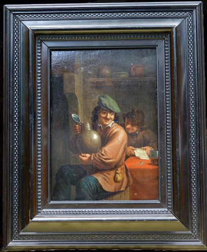 Intimate scene - Flanders 17th century