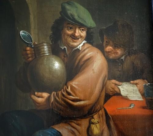 Intimate scene - Flanders 17th century -