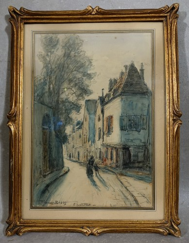 Frank Boggs - View of Chartres