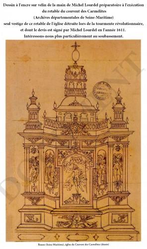 Masterpiece by Michel Lourdel - Rouen circa 1600 - Renaissance