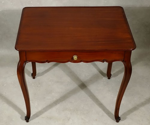 Furniture  - Louis XV cabaret table in solid mahogany - Bordeaux XVIIIth