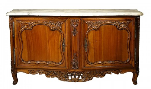 French Buffet de chasse, curved all sides - Aix-en-Provence 18th century