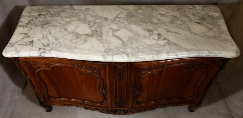 Furniture  - French Buffet de chasse, curved all sides - Aix-en-Provence 18th century