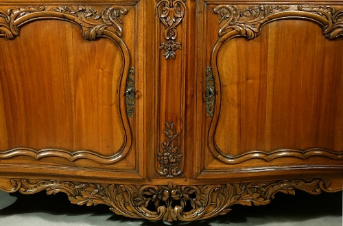 French Regence - French Buffet de chasse, curved all sides - Aix-en-Provence 18th century
