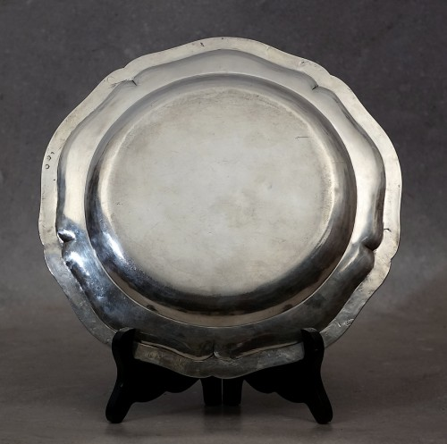 Sterling silver dish - Paris 1789 -