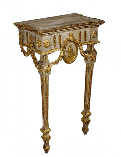 Small neoclassical console table - Piedmont 18th century