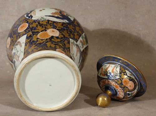 Antiquités - Large lided vase - Japan late 17th century