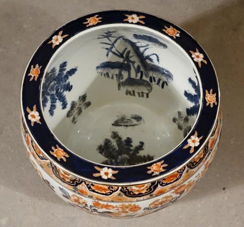 19th century - Chinese Imari fish basin