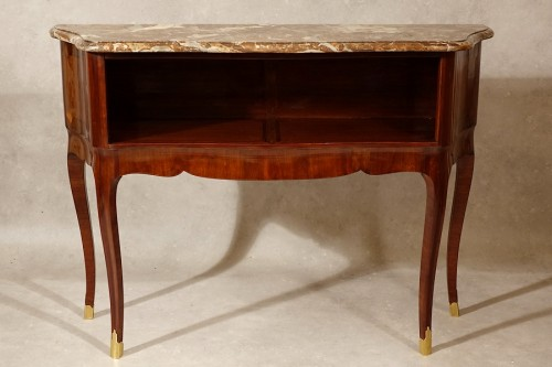 Louis XV period Parisian console table - Furniture Style Louis XV