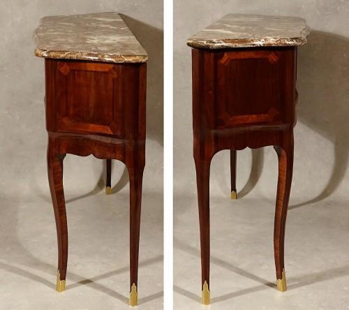 Louis XV - Louis XV period Parisian console table