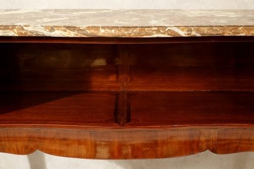 Antiquités - Louis XV period Parisian console table