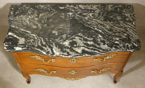 Furniture  - Chest of drawers by Jean-Francois Hache - Grenoble 18th century