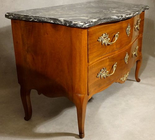 18th century - Chest of drawers by Jean-Francois Hache - Grenoble 18th century