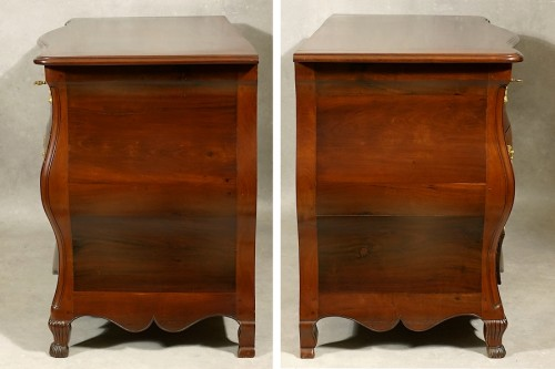 Antiquités - Mahogany chest of drawers - La Rochelle 18th century