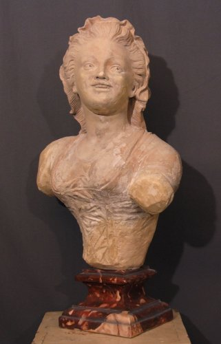 Louis XVI Terracotta sculpture - XVIIIth century from Provence