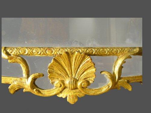 Mirrors, Trumeau  - Regence period mirror