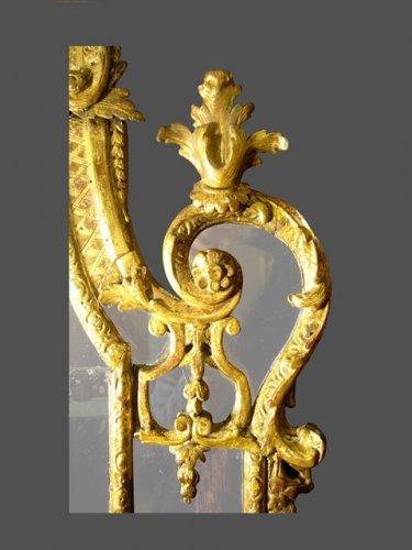 18th century - Regence period mirror