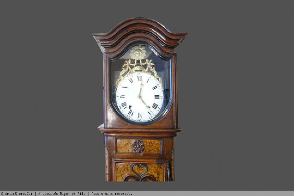 horloge de parquet xixe si cle. Black Bedroom Furniture Sets. Home Design Ideas