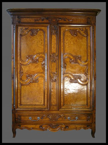 A French provincial (Bresse) armoire