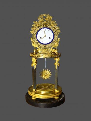 Ormolu mounted clock - Clocks Style Empire
