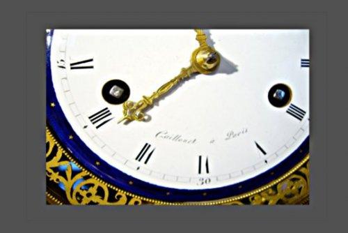 Ormolu mounted clock -