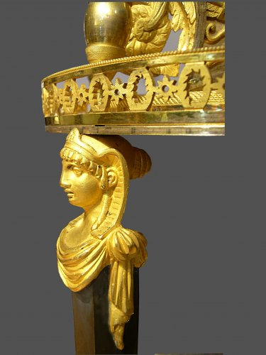 Ormolu mounted clock - Empire