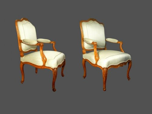 Pair of armchair, 18th century