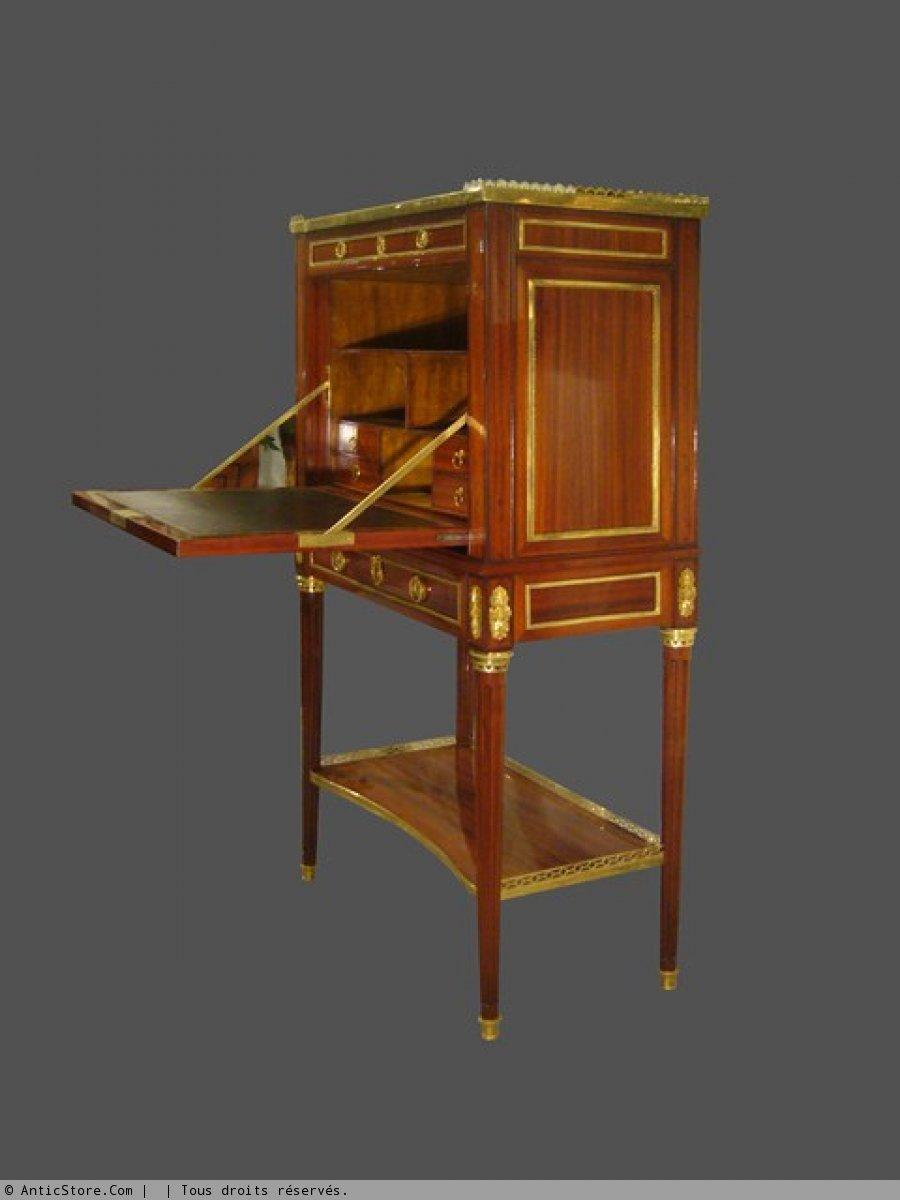 a louis xvi cabinet secretary. Black Bedroom Furniture Sets. Home Design Ideas