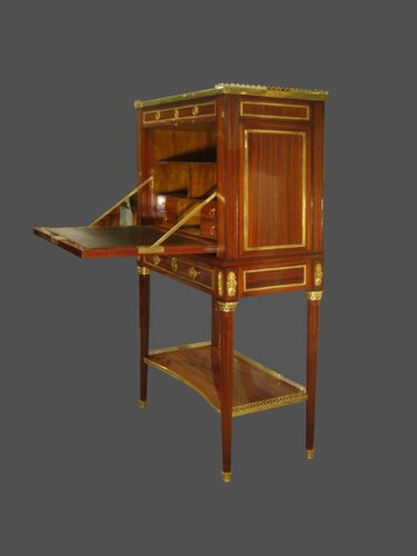 A Louis XVI Cabinet secretary - Furniture Style Louis XVI