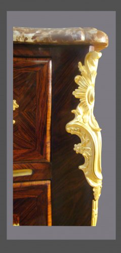 18th century marquetry commode -
